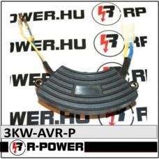 3kW Feszültség szabályzó elektronika AVR
