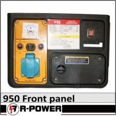 950 Áramfejlesztő front panel