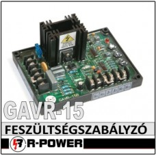 Univerzális feszültség szabályzó elektronika GAVR-15