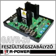 Univerzális feszültség szabályzó elektronika GAVR-20